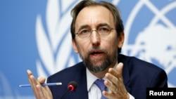 Komisioner Tinggi PBB Urusan HAM, Zeid Ra'ad al-Hussein (foto: dok).