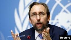 Komisaris Tinggi HAM PBB, Zeid Ra'ad Al Hussein.