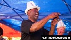 Amerikalik blyuz ustalari Qirg'izistonda konsert berdi