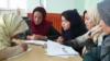 اشتراک زنان بامیانی در مسابقۀ کتاب خوانی