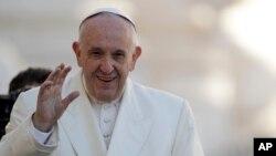 ကက္သလစ္ခရစ္ယာန္ သာသနာပိုင္ ပုပ္ရဟန္းမင္းၾကီး Francis