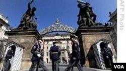 Ibukota Republik Ceko, Praha. Pemerintah Republik Ceko menghadapi krisis utang yang mencapai 35 persen dari PDB.