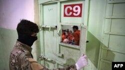 جیل کا ایک سیل خاص طور پر ان بچوں کے لیے وقف تھا جنہیں داعش جنگجو بننے کی تربیت دے رہی تھی۔ (فائل فوٹو)
