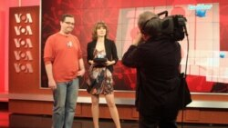 'Podalis' hosts Igor Riskin and Yulia Savchenko