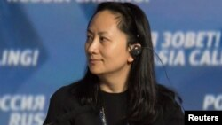 Meng Wanzhou, kepala keuangan raksasa telekomunikasi Huawei Technologies, yang ditangkap di Kanada (foto: dok).