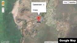 Map of Waza, Cameroon