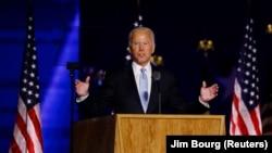 Joe Biden yatorewe kuba Perezida w'Amerika