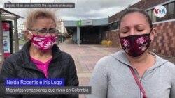 Migrantes desalojados en Colombia