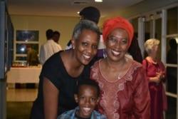 Eric Manirakiza a joint Marguerite Barankitse