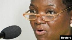 Valerie Amos, porta-voz do PAM