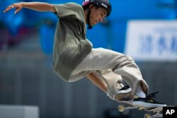 Atlet skateboard Jepang, Akira Tanaka (foto: dok).