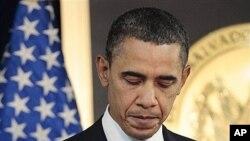 奧巴馬總統星期三在薩爾瓦多首都圣薩爾瓦多的記者會上回答有關利比亞局勢的問題