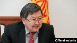 Jantoro Sotiboldiyev, 6-sentabr, 2012-yildan Qirg'iziston yangi bosh vaziri (foto www.kloop.kg saytidan olingan)