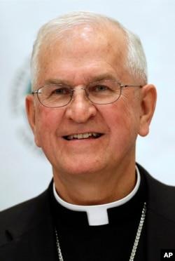 FILE - Archbishop Joseph Kurtz of Louisville, Kentucky, president of the United States Conference of Catholic Bishops.