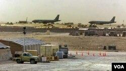 Pangkalan Angkatan Udara AS Al-Udeid di Qatar, salah satu negara Teluk Persia lainnya (foto: dok).