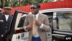Teodorin Nguema Obiang le fils du président Equato Guinéen