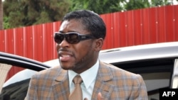 Teodorin Obiang, vice-président et fils du président et de Guinée équatoriale, 25 juin 2013.
