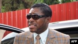 Le vice-président de Guinée équatoriale Teodorin Obiang, 25 juin 2013.
