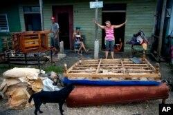 خرابی های توفان ایرما در کوبا