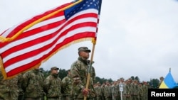 """Ukraine holds military drills called """"RAPID TRIDENT-2021"""" with U.S. forces, NATO allies"""