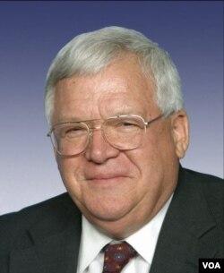 美国前国会议长哈斯特(美国国会图片)