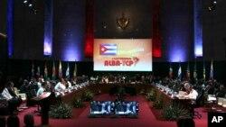 El ALBA ha celebrado su décimo aniversario con una cumbre en el Palacio de la Revolución en La Habana.