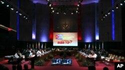 La última reunión de la ALBA se celebró en Cuba en diciembre pasado.