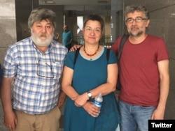 Ahmet Nesin, Şebnem Korur ve Erol Önderoğlu