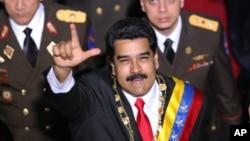 委內瑞拉總統馬杜羅(資料圖片)