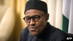 FILE - Nigerian President Muhammadu Buhari, June 14, 2015