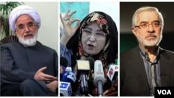 پنج سال از بازداشت خانگی میرحسین موسوی، زهرا رهنورد و مهدی کروبی میگذرد