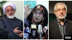 میرحسین موسوی، زهرا رهنورد، مهدی کروبی در حدود دو هزار روز است که در زندان خانگی به سر میبرند.