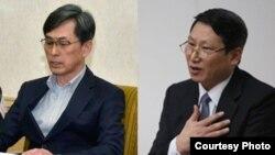 김국기 선교사와 김정욱 선교사.
