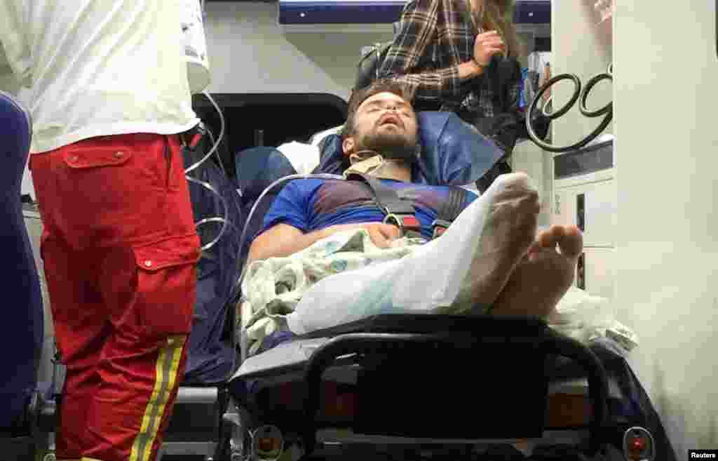 یک فعال ضد ولادیمیر پوتین که در برلین مورد حمله قرار گرفته بود، روز دوشنبه بینایی خود را از دست داد.