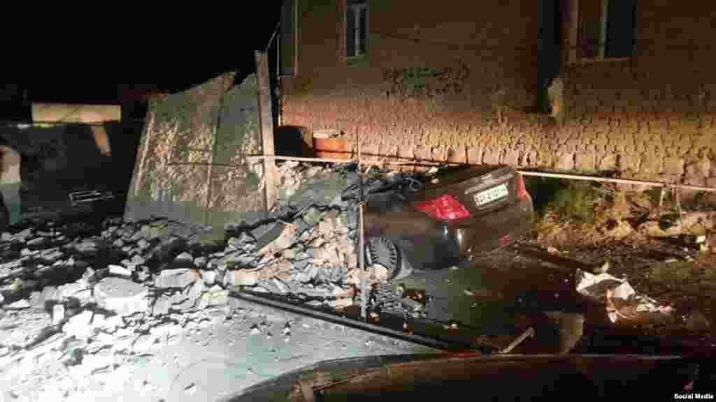 Le séisme a frappé l'ouest de l'Iran, dans la région de Kermanshah, le 13 novembre 2017.