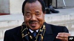 Shugaban Kamaru Paul Biya