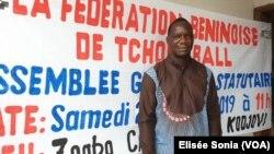 Le président Roch Séro Bété reconduit pour quatre ans au Bénin, le 25 février 2019. (VOA/Elisée Hounkpatin)