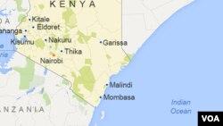 Ramani ya Kenya