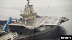 China dijo que el portaaviones tendrá importancia significativa en la defensa efectiva de su soberanía nacional.