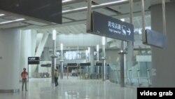 正在建设的香港西九龙高铁站