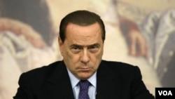 Perdana Menteri Italia Silvio Berlusconi (foto: dok).