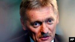 Portavoz de Rusia, Dmitry Peskov, dijo que no se ha avanzado en el asunto.