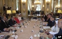 Conférence sur la Libye (Paris, 1er septembre 2011)