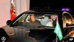 وزیر اعظم عمران خان اور سعودی عرب کے ولی عہد محمد بن سلمان۔ فائل فوٹو