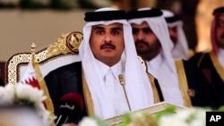 Qatar amiri shayx Tamim bin Hamad al-Taniy