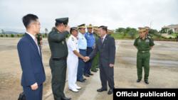 ဗိုလ္ခ်ဳပ္မွဴးႀကီးမင္းေအာင္လိႈင္ ထိုင္းႏိုင္ငံသို႔ ထြက္ခြာ (FB-Senior General Min Aung Hlaing)