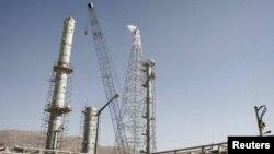 Cơ sở sản xuất nước nặng Arak ở miền trung Iran.