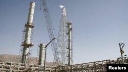 Fasilitas produksi air berat milik Iran. Arak, Iran Tengah.
