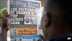 Gazeti la Rolling stone ambalo mwaka jana lilichapisha orodha ya baadhi ya mashoga Uganda na kutaka wanyongwe