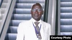 """João Castro """"Freedom"""", secretário-geral da Liga Internacional de Defesa dos Direitos Humanos e Ambiente em Angola"""